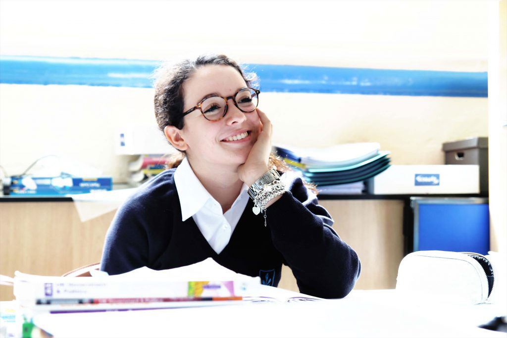 Newbury Hall student